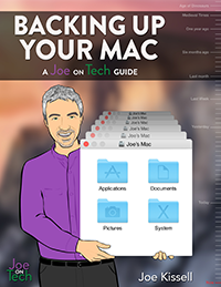 Backing Up Your Mac: A Joe On Tech Guide cover